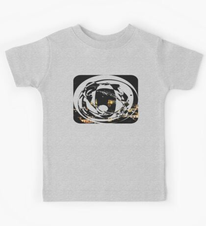 picturesque port at night Kids Tee