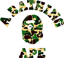 a bathing ape camo military by goldney09