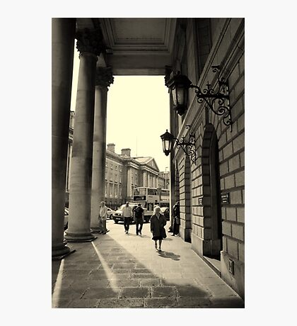 Dublin street scene Photographic Print