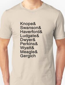 Pawnee List T-Shirt