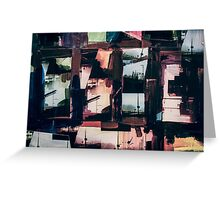 Mixed Media Collage 11 Greeting Card