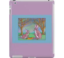Distracted Easter Bunnies iPad Case/Skin