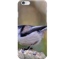 Pretty Long-tailed Tit iPhone Case/Skin
