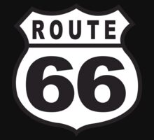 Route 66 Retro One Piece - Short Sleeve