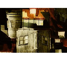 Mixed Media Art Collage 9 Photographic Print