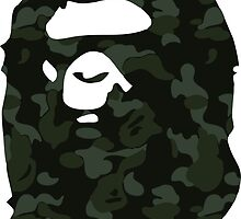 bape military by goldney09