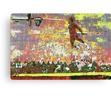 Jordan - Firewoks Version Canvas Print