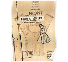 ladies skirt, 2010 Poster
