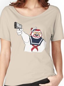 Over the Puft Line! Women's Relaxed Fit T-Shirt