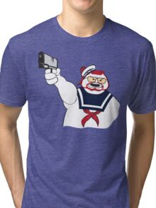 Over the Puft Line! Tri-blend T-Shirt