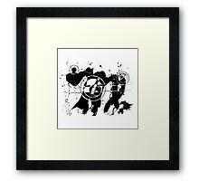 Gonzo Zodiac - Virgo Framed Print