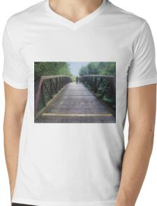 Bridge over Troubled Waters Mens V-Neck T-Shirt