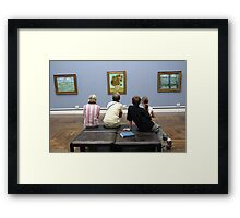 Learning about Vincent Framed Print