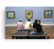Learning about Vincent Canvas Print