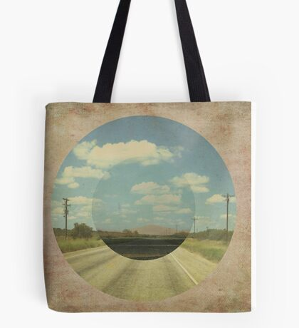 Open Road Collage Tote Bag