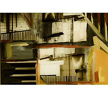 Mixed Media Collage 7 Photographic Print