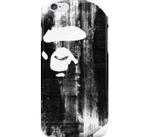 bape black n white iPhone Case/Skin
