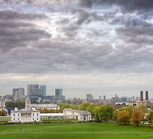 Greenwich Park London by Robert Radford