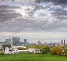 Greenwich Park London by Robert Radford
