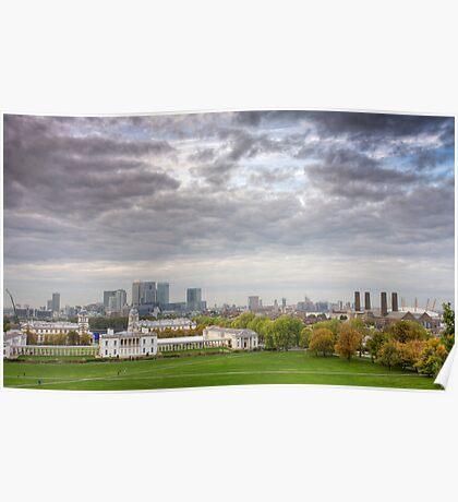 Greenwich Park London Poster