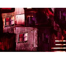 Industrial Textures Mixed Media 6 Photographic Print