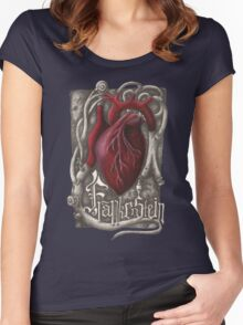 Frankenstein - The Heart of a Monster Women's Fitted Scoop T-Shirt