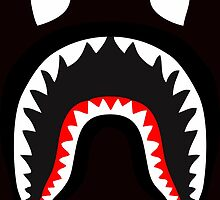 bape shark by goldney09