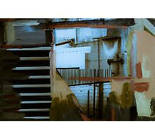 Industrial Mixed Media 5 Photographic Print