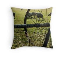 Sprinklers - Sheep Throw Pillow