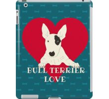 Bull Terrier Love iPad Case/Skin