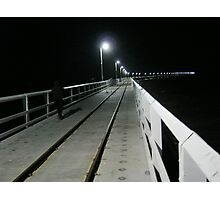 Cold Morning at Busselton Pier Photographic Print