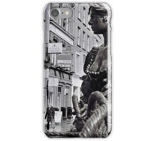 Old Molly in the rain iPhone Case/Skin