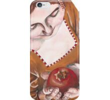 Mary and the Pomegranate iPhone Case/Skin