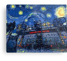Starry Night in Manchester - www.art-customized.com Metal Print