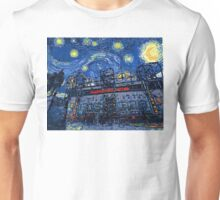 Starry Night in Manchester - www.art-customized.com Unisex T-Shirt