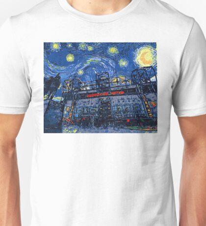 Starry Night in Manchester - www.art-customized.com Unisex T-Shirt