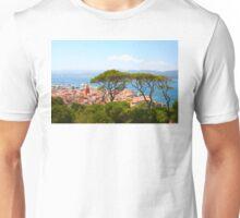 Postcard from Saint Tropez, Southern France Unisex T-Shirt