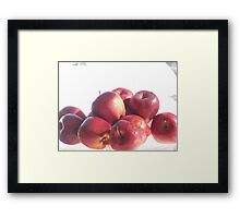 Red Apples Framed Print
