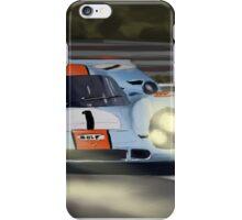 Gulf Porsche 917 iPhone Case/Skin