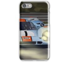 Gulf Porsche 917 iPhone Case/Skin