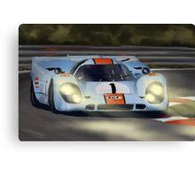 Gulf Porsche 917 Canvas Print