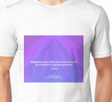 Work and Words are of Benefit Unisex T-Shirt