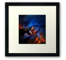 Ashes in our way Framed Print
