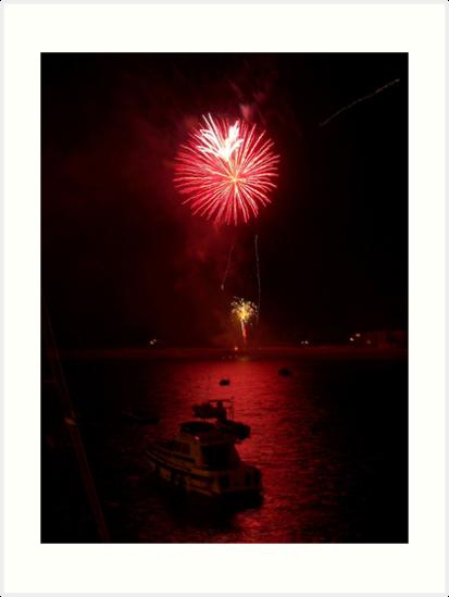 Jersey Fireworks by piccolo8va