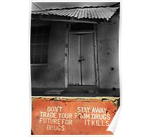 Dont Trade Your Future For Drugs  Poster