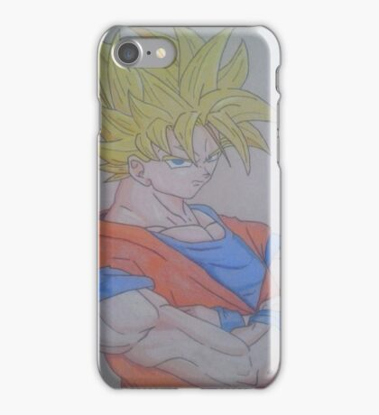 Goku ssj 2 iPhone Case/Skin