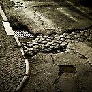 Lisbon pavement by Laurent Hunziker