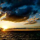 Lake Champlain Sunset 1 by A. Kakuk