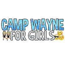 Camp Wayne Emoji Photographic Print