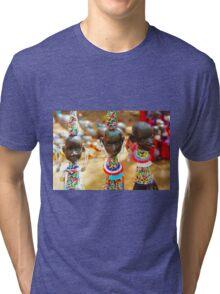 Masai, KENYA Tri-blend T-Shirt